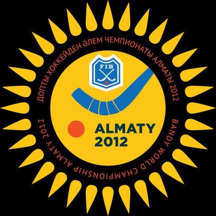 """Официальный логотип ЧМ-2012 по хоккею с мячом. Фото """"СЭ"""""""