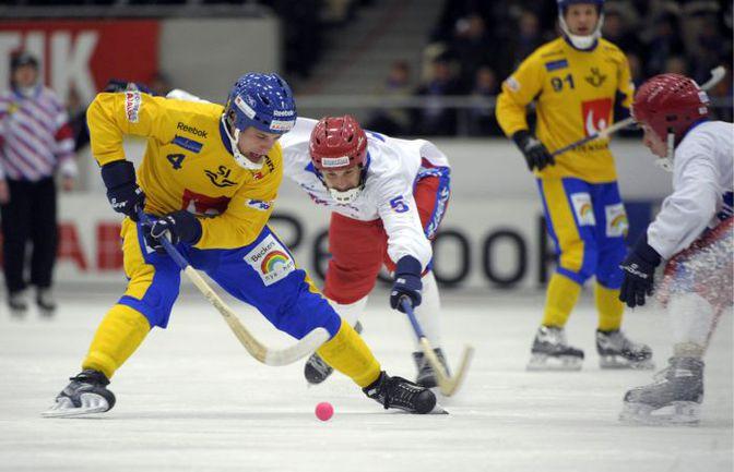 Год назад сборная России в финале чемпионата мира проиграла шведам. Фото AFP