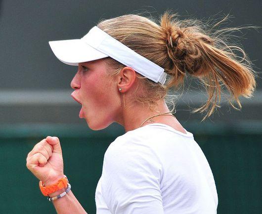 Чемпионка мира среди теннисисток в возрасте до 18 лет Ирина ХРОМАЧЕВА. Фото AFP