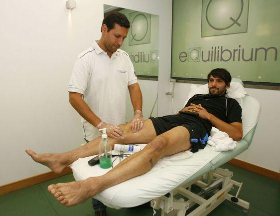 """В мае 2009 года ДАННИ уже получал подобную травму. Фото """"СЭ"""""""