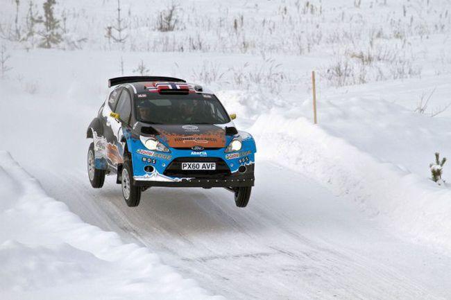 """Ни зрителям, ни пилотам заводских команд не стоит упускать из виду норвежского """"частника"""" Мадса Остберга: год назад он стал вторым, уступив Хирвонену всего четыре секунды и выиграв почти полминуты у Латвалы. Фото Adapta World Rally Team. Фото """"СЭ"""""""