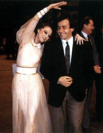 Конец 80-х. Майя ПЛИСЕЦКАЯ и Мишель ПЛАТИНИ. Фото из личного архива Майи Плисецкой. Фото «СЭ»