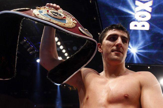 Чемпион мира по версии WBО в категории до 90,7 кг Марко ХУК. Фото REUTERS