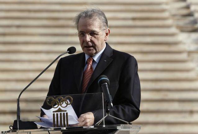 Президент МОК Жак РОГГЕ. Фото REUTERS