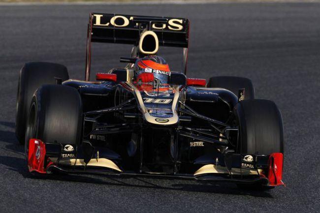 """Команду """"Лотус"""" поспешили объявить главным неудачником тестов, но вторая сессия в Барселоне прошла для нее вполне успешно. Фото - Lotus. Фото """"СЭ"""""""