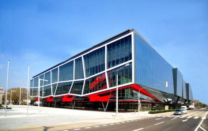 """Братислава. Orange Arena - домашний дворец """"Слована"""". Фото iihf.com. Фото """"СЭ"""""""