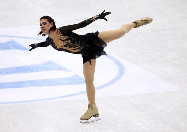 Суббота. Ницца. Алена ЛЕОНОВА. Фото AFP