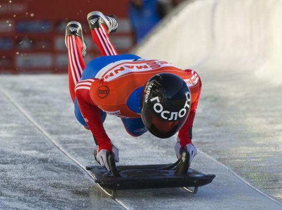 Призер Олимпиады-2010 Александр ТРЕТЬЯКОВ. Фото REUTERS