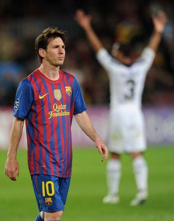 """Вторник. Барселона. """"Барселона"""" - """"Челси"""" - 2:2. Лиенель МЕССИ в этом поединке не использовал массу возможностей отличиться, включая пенальти. Фото REUTERS"""