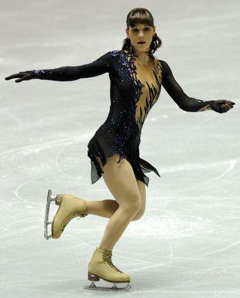 Алена ЛЕОНОВА. Фото AFP