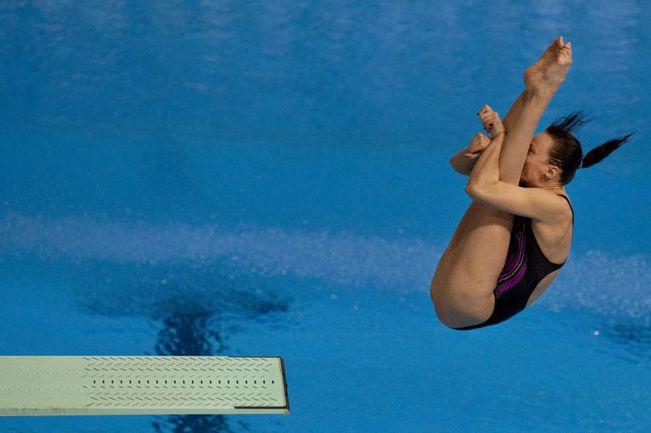 Надежда БАЖИНА и Артем Чесаков заняли третье место в командных соревнованиях в Эйндховене. Фото AFP
