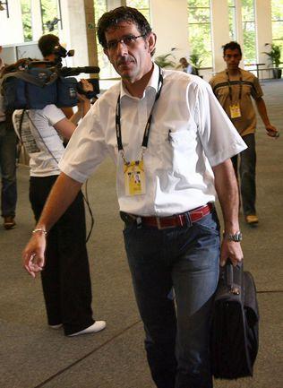 """С нового сезона """"Катюшей"""" руководит бывший главный спортивный директор HTС-Highroad Валерио ПИВА. Фото AFP"""