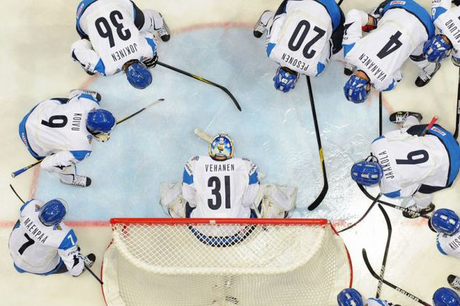 Сборная Финляндии с некоторыми опасениями подходит к полуфинальному матчу с Россией. Фото «СЭ»