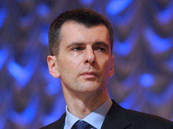 Президент СБР Михаил ПРОХОРОВ. Фото REUTERS