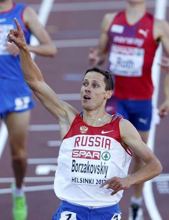 Вчера. Хельсинки. Победный финиш Юрия БОРЗАКОВСКОГО. Фото REUTERS