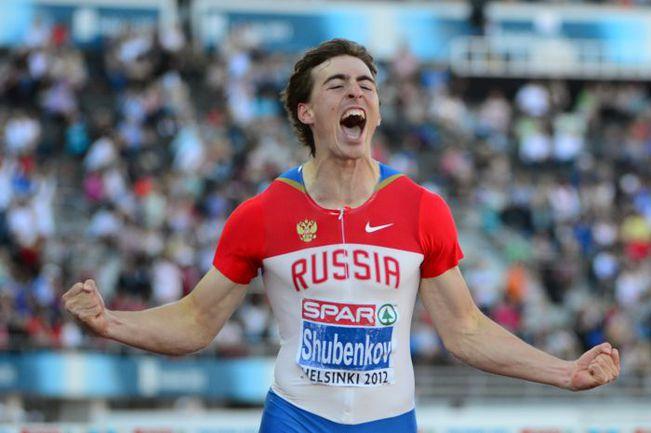 Воскресенье. Хельсинки. Сергей ШУБЕНКОВ - чемпион Европы. Фото AFP