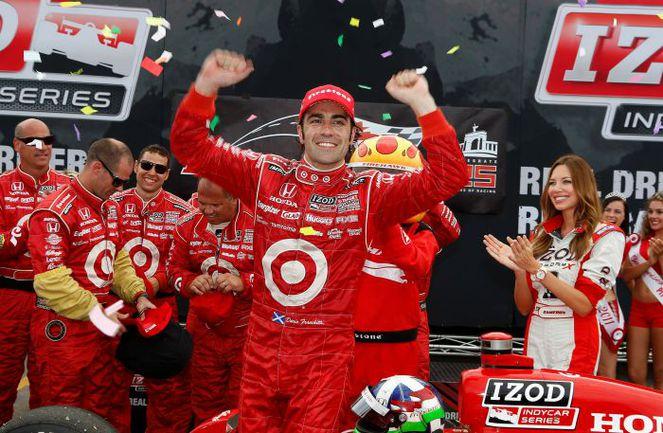 """Гонка прошлого года закончилась победой Дарио ФРАНКИТТИ, представляющего команду Ganassi. Фото - Indycar. Фото """"СЭ"""""""