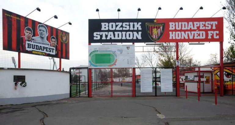 """Стадион """"Хонведа"""" """"Иштван Божик"""" вмещает всего 6000 зрителей. Фото """"СЭ"""""""