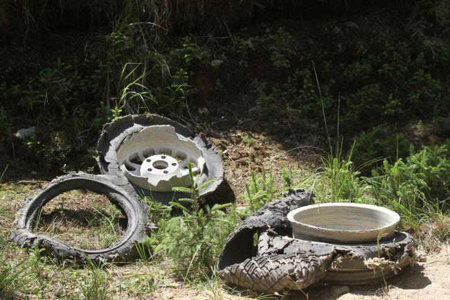 """Вероятность проколов на """"Ралли Сибиу"""" была так высока, что ради сбережения колес пилоты сбрасывали газ на многих длинных, подходящих для атаки прямых. Фото - IRC. Фото """"СЭ"""""""