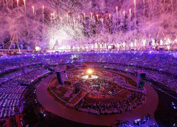 Пятница. Лондон. Открытие ХХХ летних Олимпийских игр. Фото REUTERS