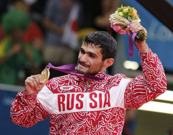 Сегодня. Лондон. Арсен ГАЛСТЯН - первый российский олимпийский чемпион-2012! Фото REUTERS