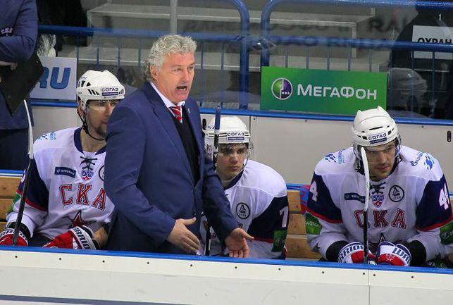 Главный тренер СКА Милош РЖИГА. Фото photo.khl.ru