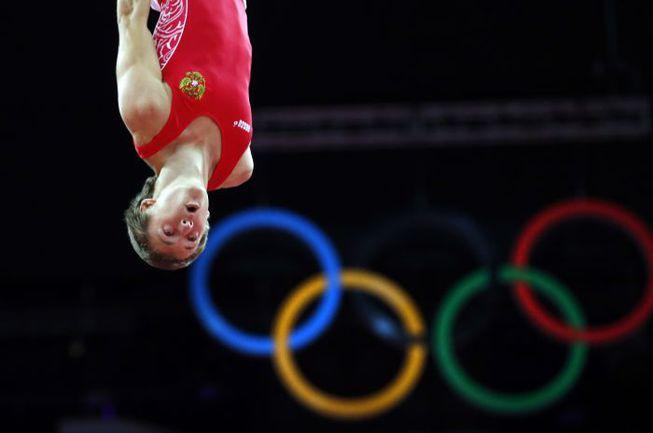 Пятница. Лондон. Дмитрий УШАКОВ - самый неожиданный на данный момент российский серебряный призер Игр-2012. Фото AFP