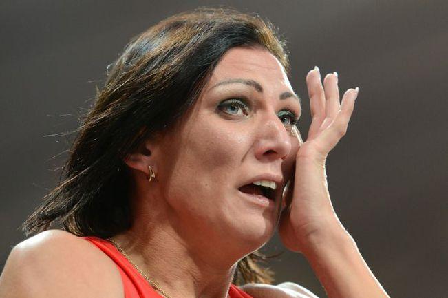 Среда. Лондон. Слезы Натальи АНТЮХ после победного финиша. Фото AFP