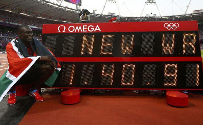 Четверг. Лондон. Рекордсмен мира на дистанции 800 м Дэвид РУДИША. Фото Reuters