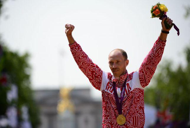 Суббота. Лондон. Радость олимпийского чемпиона Сергея КИРДЯПКИНА. Фото AFP