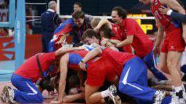 Воскресенье. Лондон. Россия - Бразилия - 3:2. Российские волейболисты - олимпийские чемпионы!