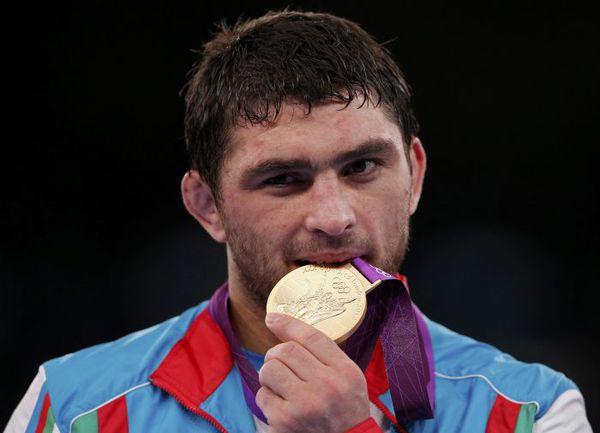 Шариф ШАРИФОВ (Азербайджан) - золото в вольной борьбе (до 84 кг). Родился в 1988 году в Дагестане. Фото REUTERS