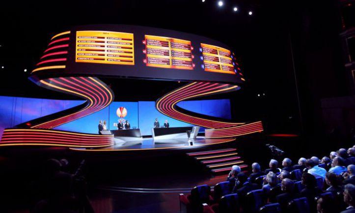 Вчера. Монако. Жеребьевка Лиги Европы. Фото AFP