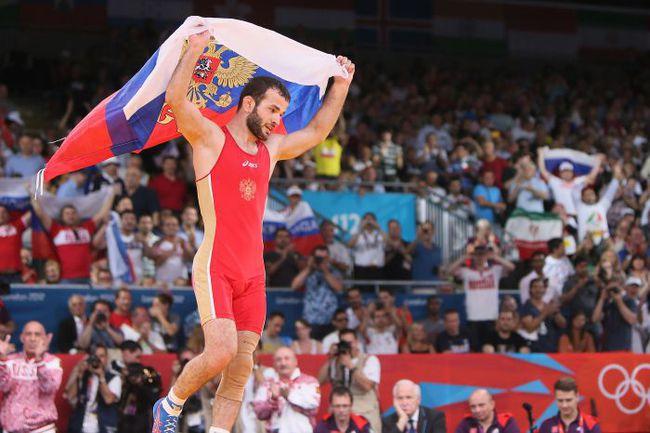 10 августа. Лондон. Джамал ОТАРСУЛТАНОВ - олимпийский чемпион! Фото AFP