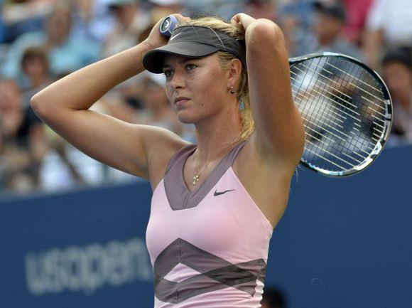 Сегодня. Нью-Йорк. Мария ШАРАПОВА не сумела выйти в финал US Open-2012. Фото AFP