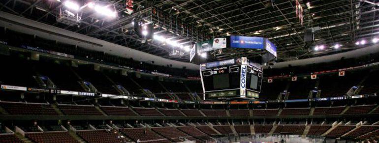 """Оттава. Похоже, что арене """"Сенаторз"""", как и прочих клубов НХЛ, пустовать еще долго. Фото REUTERS"""