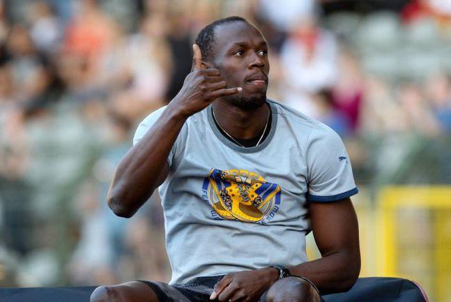 7 сентября. Брюссель. Усэйн БОЛТ, самая яркая звезда современной легкой атлетики, находится в центре внимания не только на беговой дорожке. Фото AFP