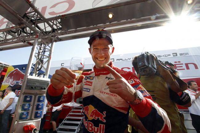 """Себастьян ОЖЬЕ выиграл гонку в прошлом году. Фото - Citroen. Фото """"СЭ"""""""