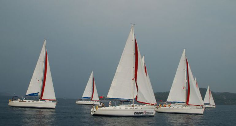 "Флот Fun Race. Marmaris-2012. Sevda Kucukkaragoz. Фото ""СЭ"""