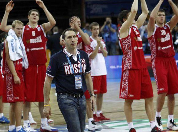 Пкоа не ясно, кто будет руководить сборной России после Дэвида БЛАТТА, зато понятно, что такие соперники по Евробаскету-2013 бывшему тренеру национальной команды понравились бы. Фото REUTERS