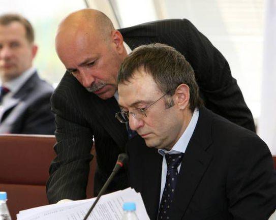 """Айваз КАЗИАХМЕДОВ и Сулейман КЕРИМОВ. . Фото """"СЭ"""""""