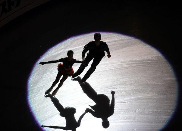 Вчера. Сочи. Выступление Василисы ДАВАНКОВОЙ и Андрея ДЕПУТАТА. Фото AFP