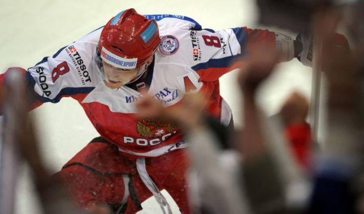 В стартовом матче со шведами Александр ОВЕЧКИН отметился голом. Как будет в игре с Чехией? Фото AFP