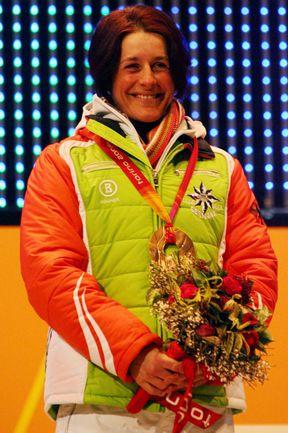 Одна из легенд мирового биатлона Урсула ДИЗЛЬ. Фото AFP