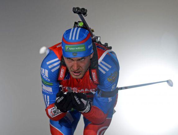 Суббота. Оберхоф. Евгений ГАРАНИЧЕВ стал вторым по итогам спринтерской гонки. Фото AFP