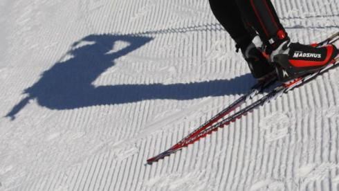 Хорошие лыжи едут быстро даже на слабой смазке