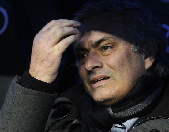 """Среда. Мадрид. """"Реал"""" - """"Сельта"""" - 4:0. Жозе МОУРИНЬЮ. Фото AFP"""