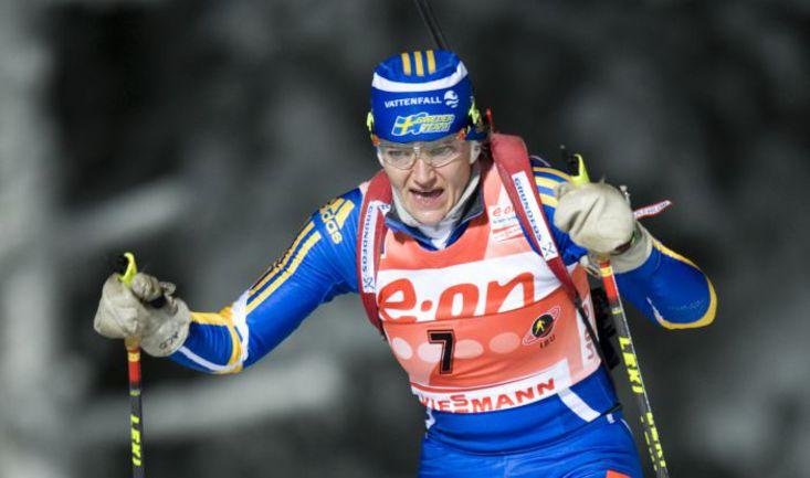 2010 год. Эстерсунд. Анна Карин ЗИДЕК. . Фото AFP