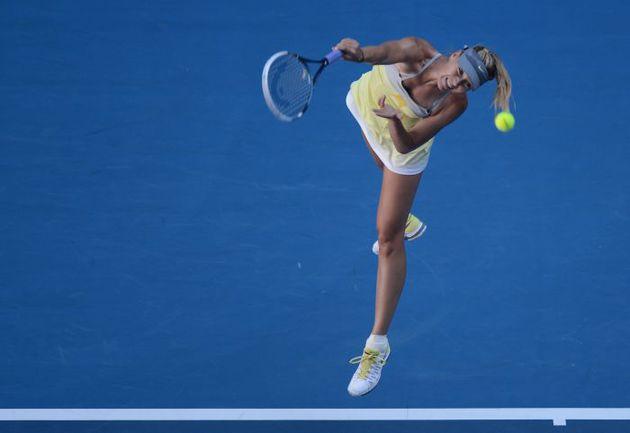 Сегодня. Мельбурн. Мария ШАРАПОВА одерживает вторую сухую победу на Australian Open-2013: вслед за соотечественницей Ольгой Пучковой россиянка под ноль обыграла Мисаки Дои. Фото AFP