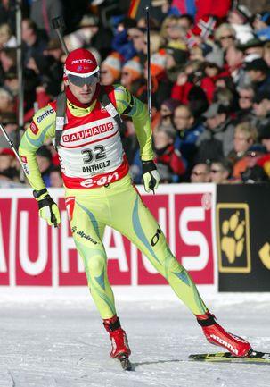 Пятница. Антерсельва. Словенец Яков ФАК стал третьим по итогам спринтерской гонки. Фото AFP